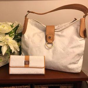 Liz Claiborne Shoulder Bag and Wallet